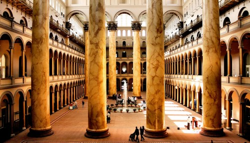 National Building Museum Jigsaw Puzzle