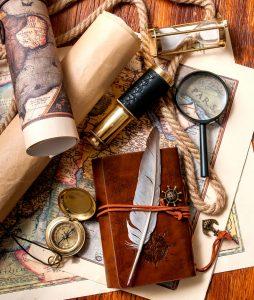 Navigator's Notebook Jigsaw Puzzle