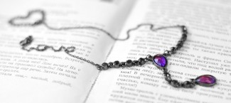 Necklace and Book