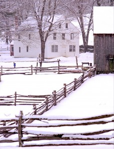 New England Farm Jigsaw Puzzle
