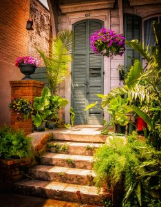 New Orleans Doorstep Jigsaw Puzzle
