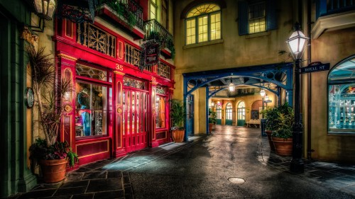 New Orleans Square Jigsaw Puzzle