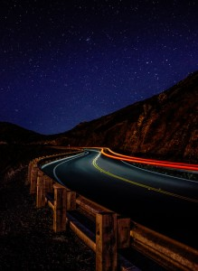 Night Road Jigsaw Puzzle