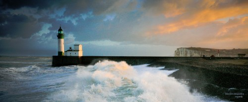 Normandy Lighthouse Jigsaw Puzzle