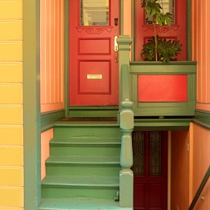 North Beach Colors Jigsaw Puzzle