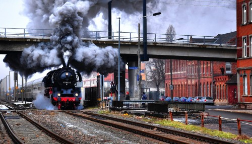 North Erfurt Train Jigsaw Puzzle