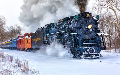 North Pole Express Jigsaw Puzzle