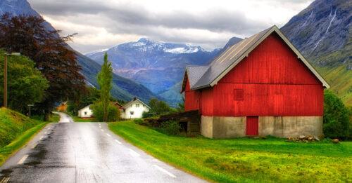 Norway Barn Jigsaw Puzzle