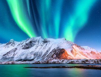 Norwegian Aurora Jigsaw Puzzle