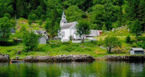 Norwegian Church Jigsaw Puzzle