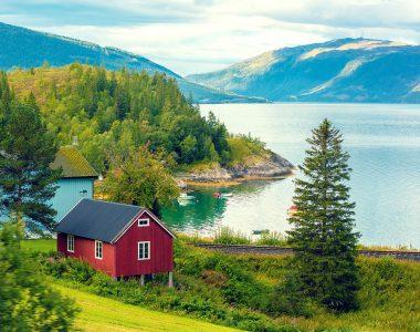 Norwegian Fjord Jigsaw Puzzle