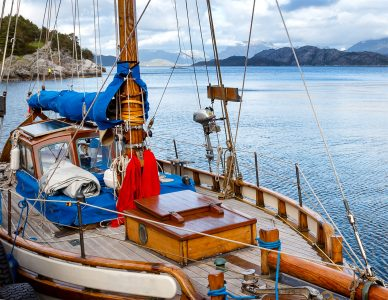 Norwegian Sailboat Jigsaw Puzzle