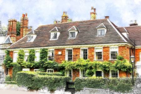 Norwich House Jigsaw Puzzle