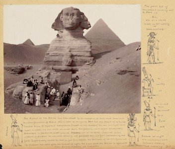 Notes on the Sphinx Jigsaw Puzzle