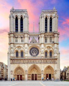 Notre Dame Facade Jigsaw Puzzle