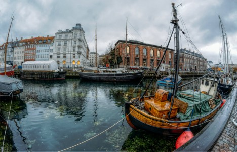 Nyhavn Boats Jigsaw Puzzle