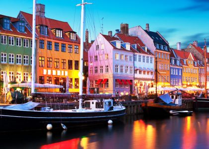 Nyhavn Evening Jigsaw Puzzle