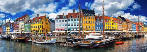 Nyhavn Waterfront Jigsaw Puzzle