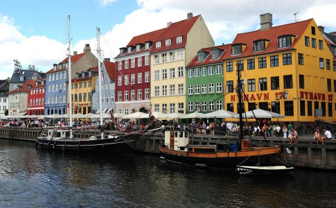 Nyhavn Wharf Jigsaw Puzzle