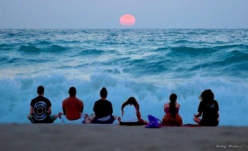Ocean Meditation Jigsaw Puzzle