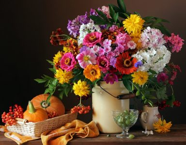 October Bouquet Jigsaw Puzzle