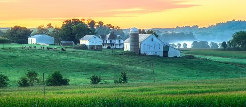 Ohio Dairy Farm Jigsaw Puzzle