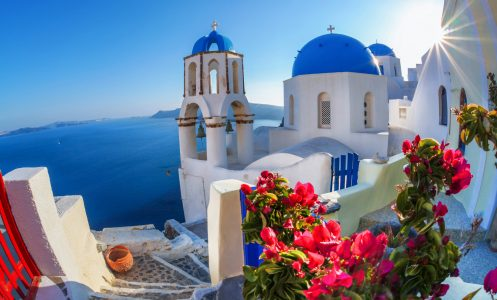 Oia View Jigsaw Puzzle