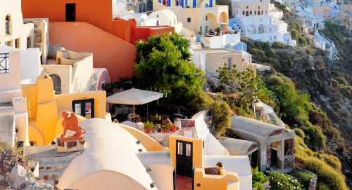 Oia Village Jigsaw Puzzle