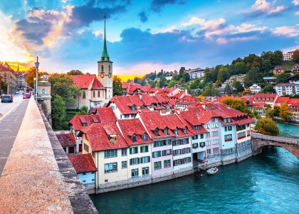Old City of Bern Jigsaw Puzzle