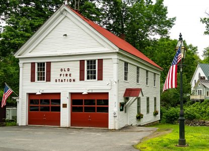 Old Fire Station Jigsaw Puzzle