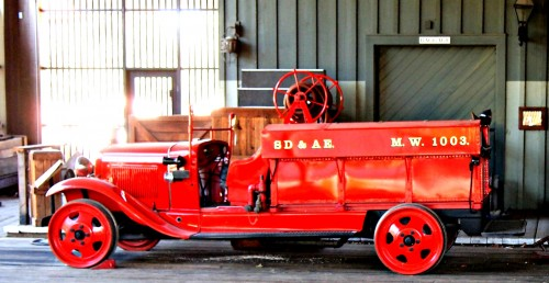 Old Firetruck Jigsaw Puzzle
