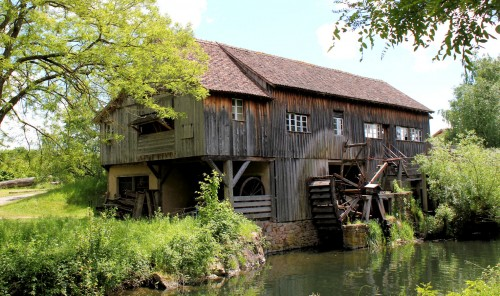 Old Mill Jigsaw Puzzle