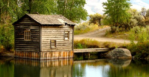 Old Pumphouse Jigsaw Puzzle