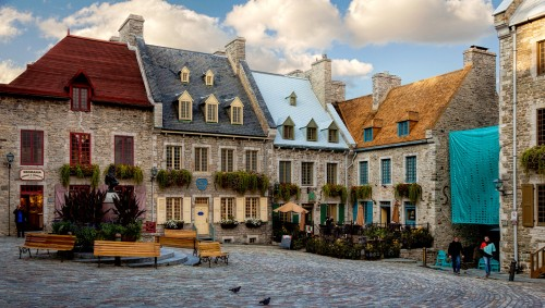 Old Quebec Jigsaw Puzzle