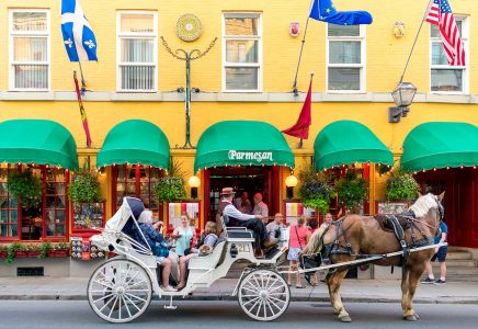 Old Quebec Carriage Jigsaw Puzzle