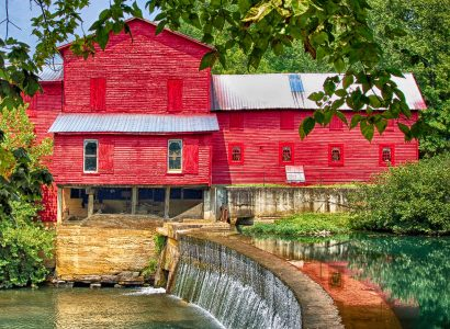 Old Red Mill Jigsaw Puzzle
