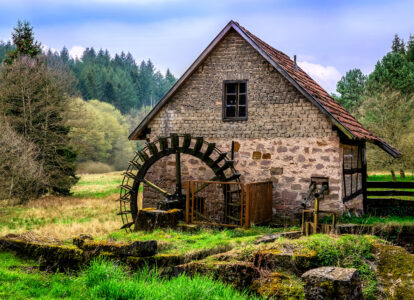 Old Stone Mill Jigsaw Puzzle