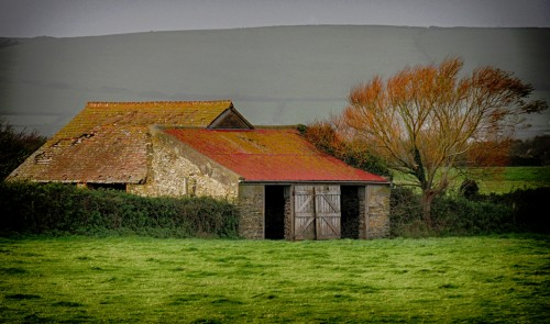 Old Stone Shed Jigsaw Puzzle