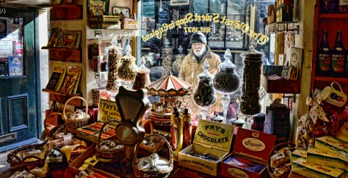 Old Sweet Shop Jigsaw Puzzle