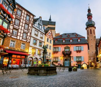 Old Town Cochem Jigsaw Puzzle
