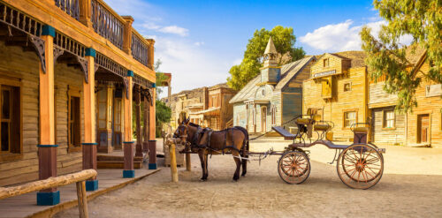 Old West Jigsaw Puzzle