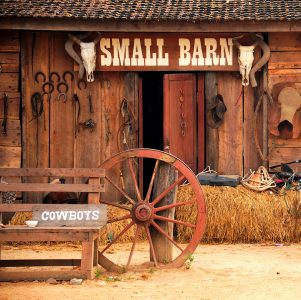Old West Barn Jigsaw Puzzle