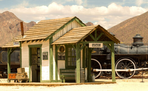 Old West Station Jigsaw Puzzle