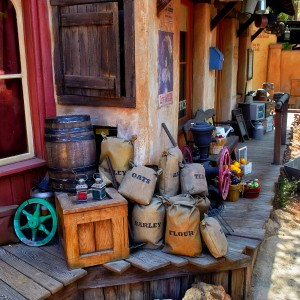 Old West Supplies Jigsaw Puzzle
