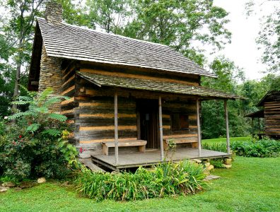 One Room Cabin Jigsaw Puzzle