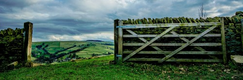 Open Gate Jigsaw Puzzle