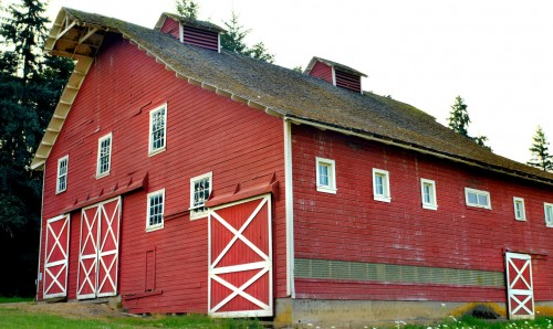 Oregon Barn Jigsaw Puzzle