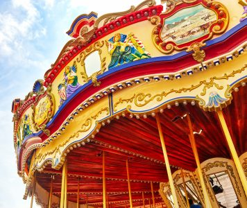 Ornate Carousel Jigsaw Puzzle