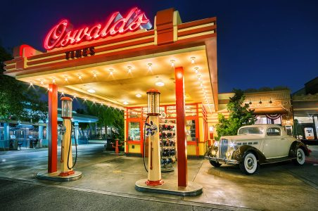 Oswald's Gas Station Jigsaw Puzzle