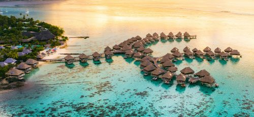 Overwater Bungalows Jigsaw Puzzle